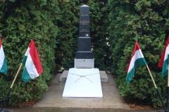 I. Vh. emlékmű avatás 2016.október 26. (fotó: Páli Józsefné)