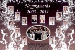 Arany János Általános Iskola végzős tanulói